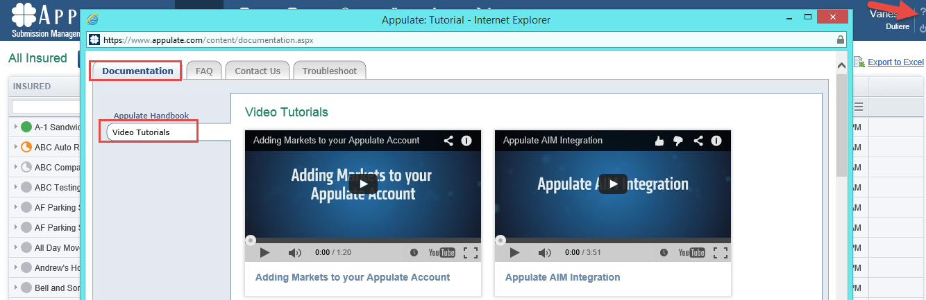 Introducing Appulate Video Tutorials